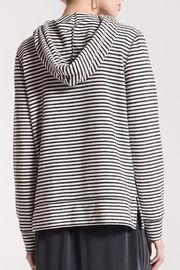 z supply Soft Striped Hoodie - Front full body