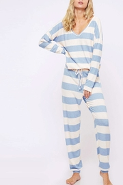 Fantastic Fawn Soft Striped Pants - Product Mini Image