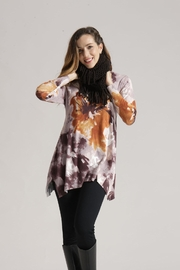 Orange Fashion Village Soft Swirl Sweater - Product Mini Image