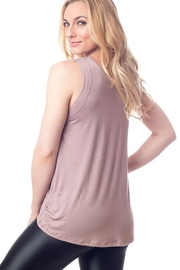 EMILY HSU Soft Taupe Sunday Tank - Front full body