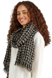 Two's Company Soft Textured Scarf/ Shawl - Product Mini Image