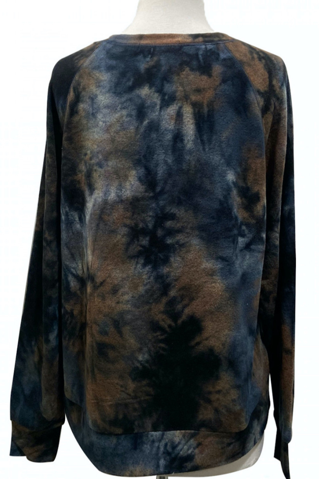 Coin 1804 Soft Tie Dye Sweatshirt - Front Full Image