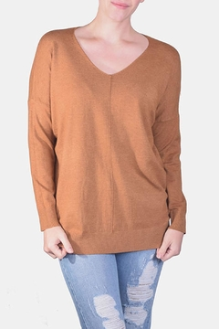Dreamers Soft V-Neck Sweater - Product List Image