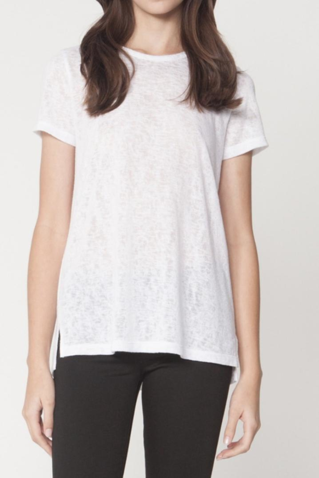 Michelle by Comune Soft White Tee - Main Image