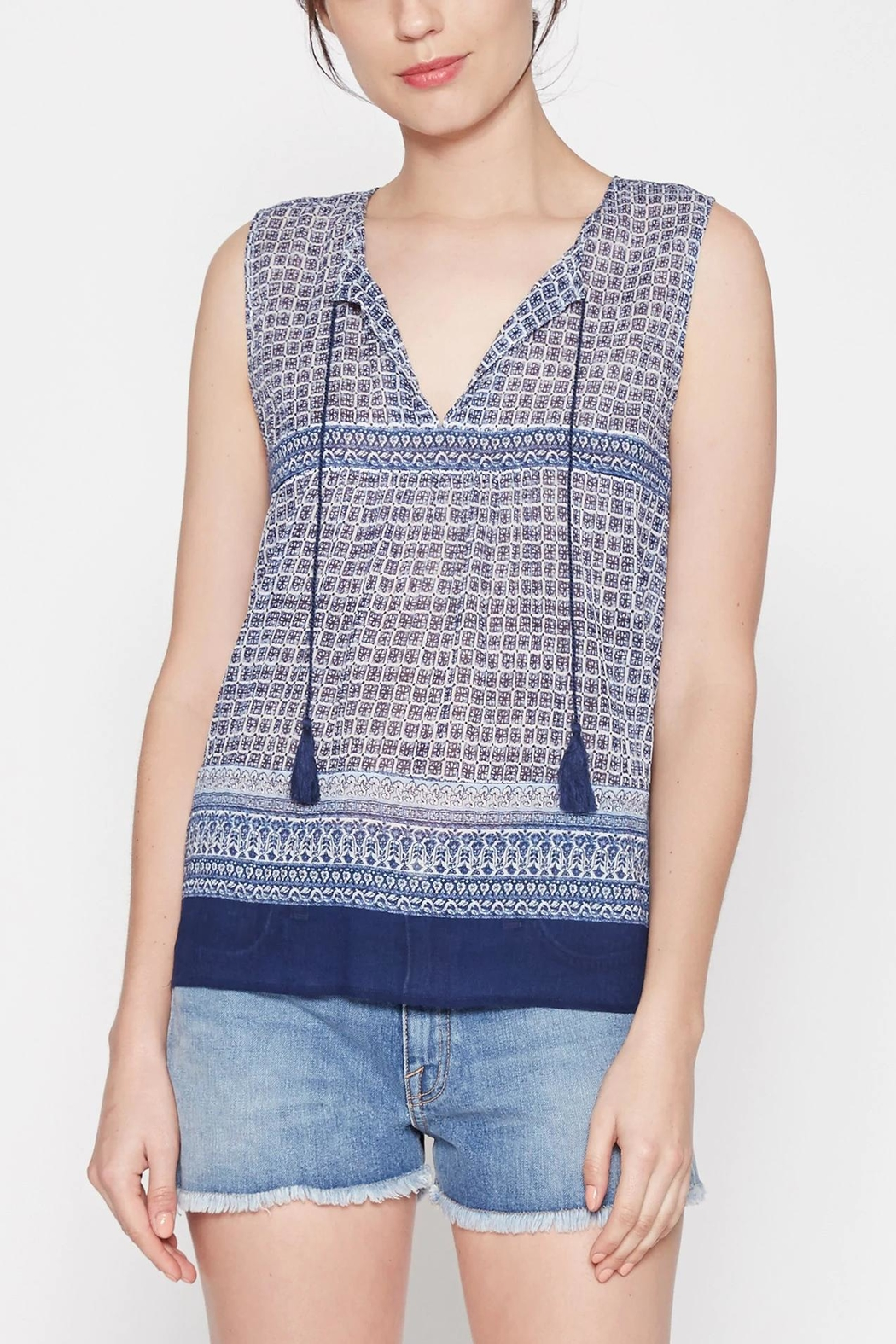 Joie Adralina Sleeveless Blouse - Front Cropped Image