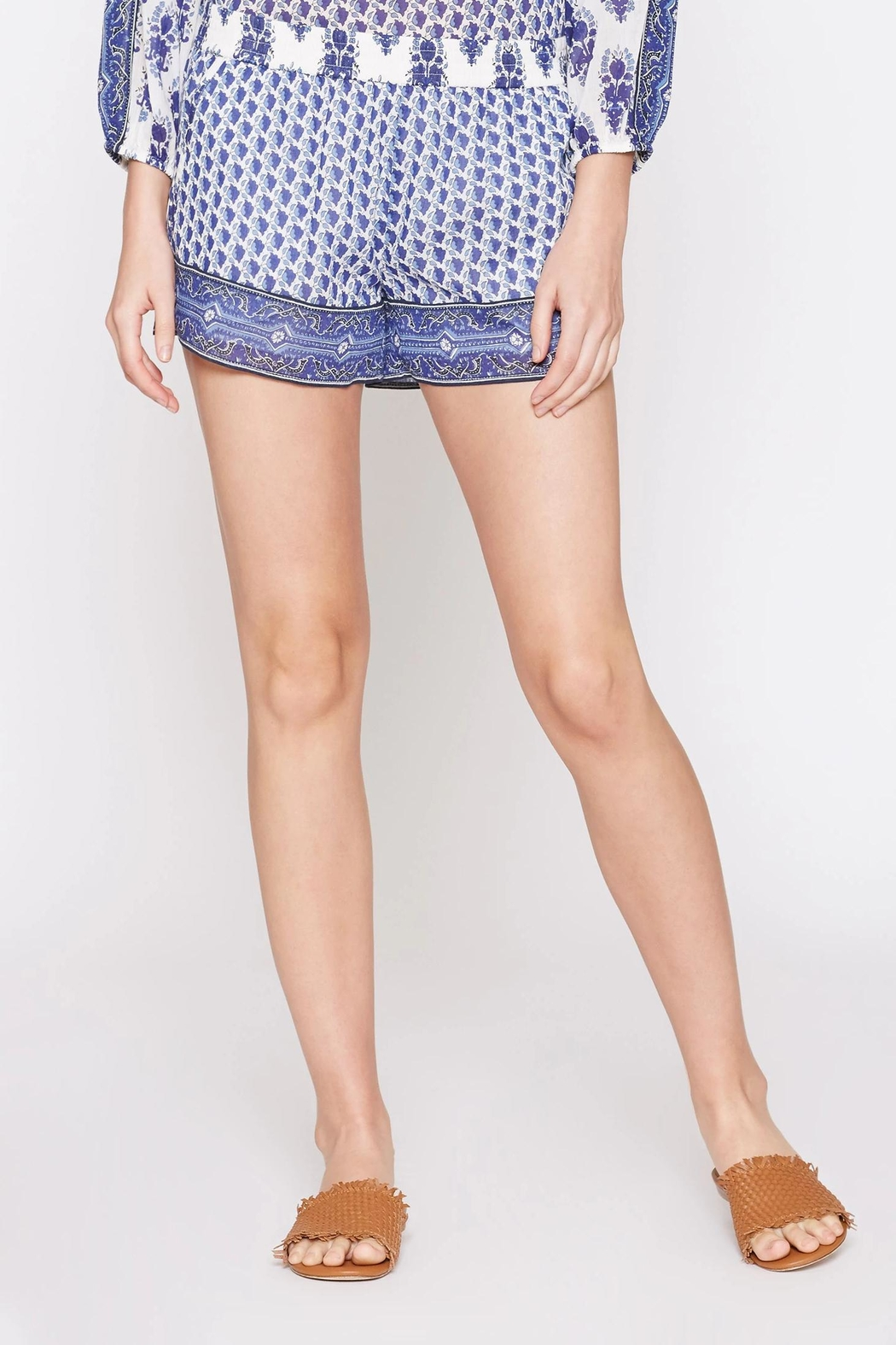 Soft Joie Beatra Printed Shorts - Front Cropped Image