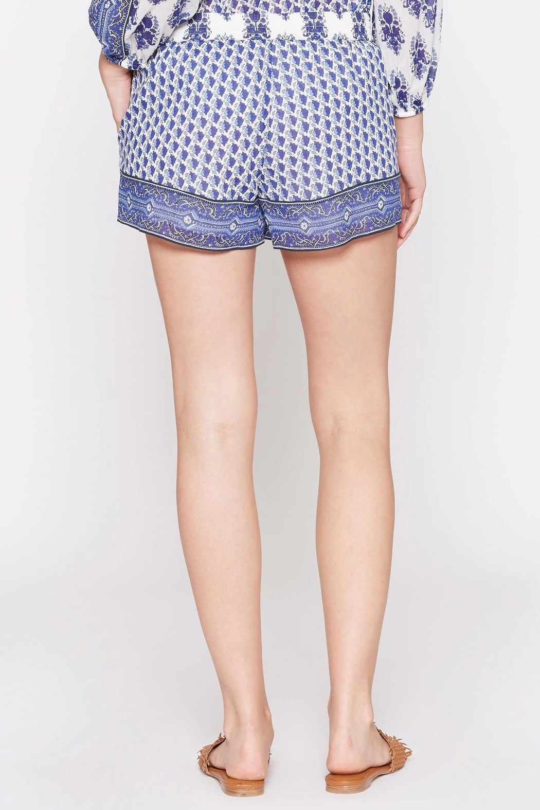 Soft Joie Beatra Printed Shorts - Front Full Image