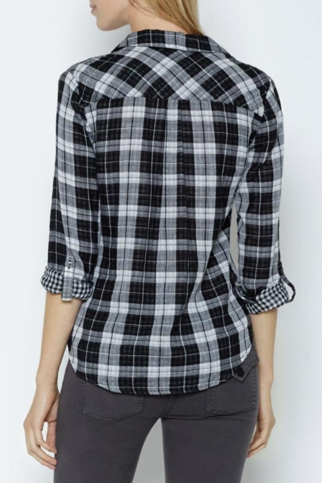 Joie Cydnee Plaid Shirt - Front Full Image