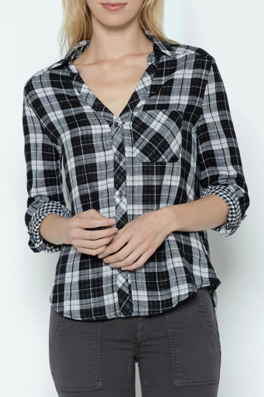 Joie Cydnee Plaid Shirt - Main Image
