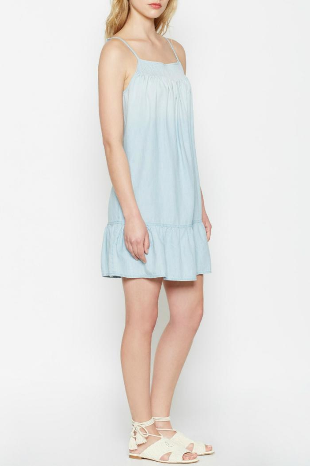 Joie Kunala Chambray Dress - Side Cropped Image
