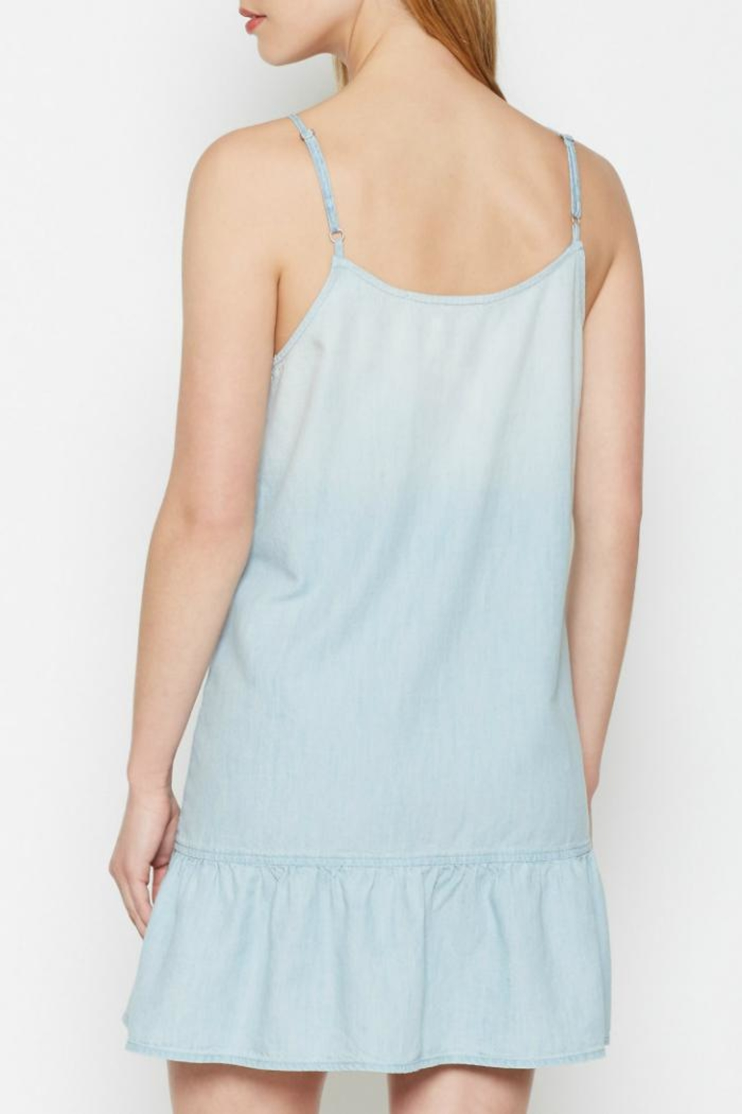 Joie Kunala Chambray Dress - Front Full Image