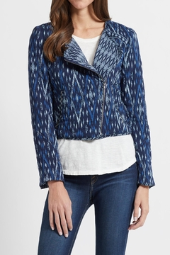 Soft Joie Navy Ikat Jacket - Product List Image