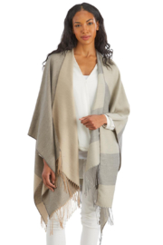 Two's Company Softer than Cashmere Neutral Shaw - Product Mini Image