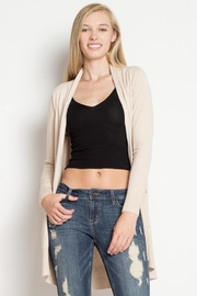 Dreamers Softest-Ever Oatmeal Cardigan - Product Mini Image