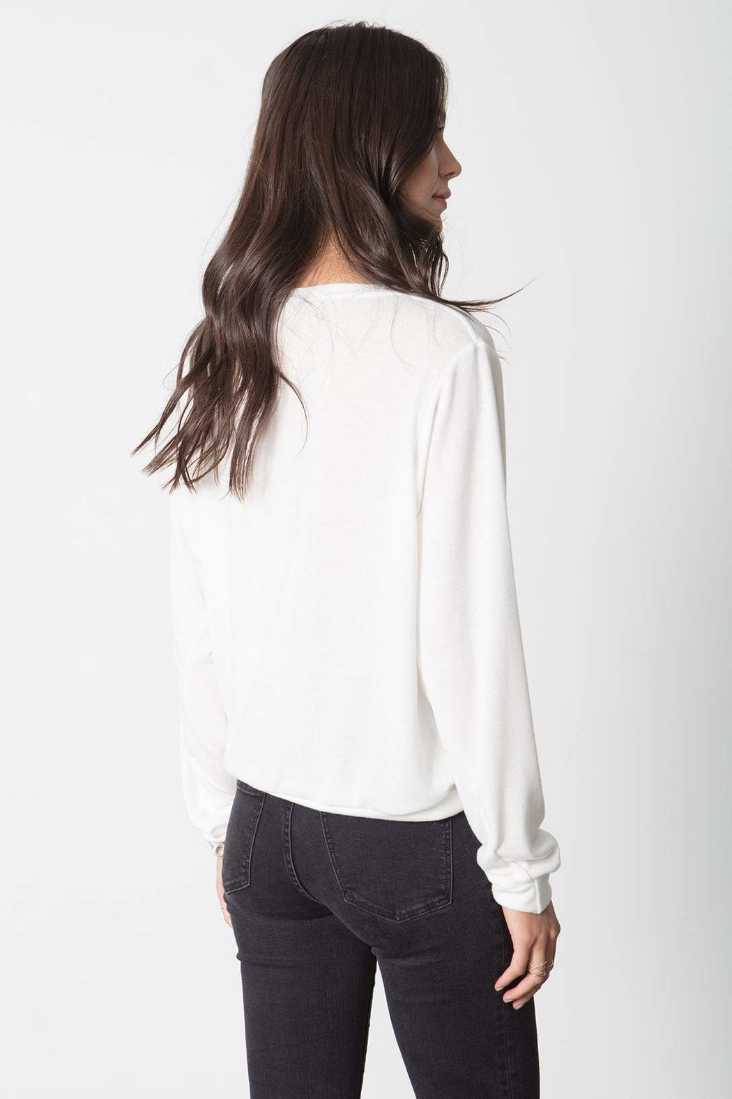 Stillwater Softest Pullover Knit Top - Side Cropped Image