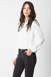Stillwater Softest Pullover Knit Top - Product Mini Image