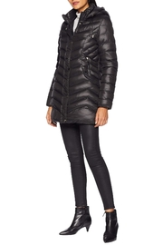 Tribal Softshell Puffer Jacket - Front full body