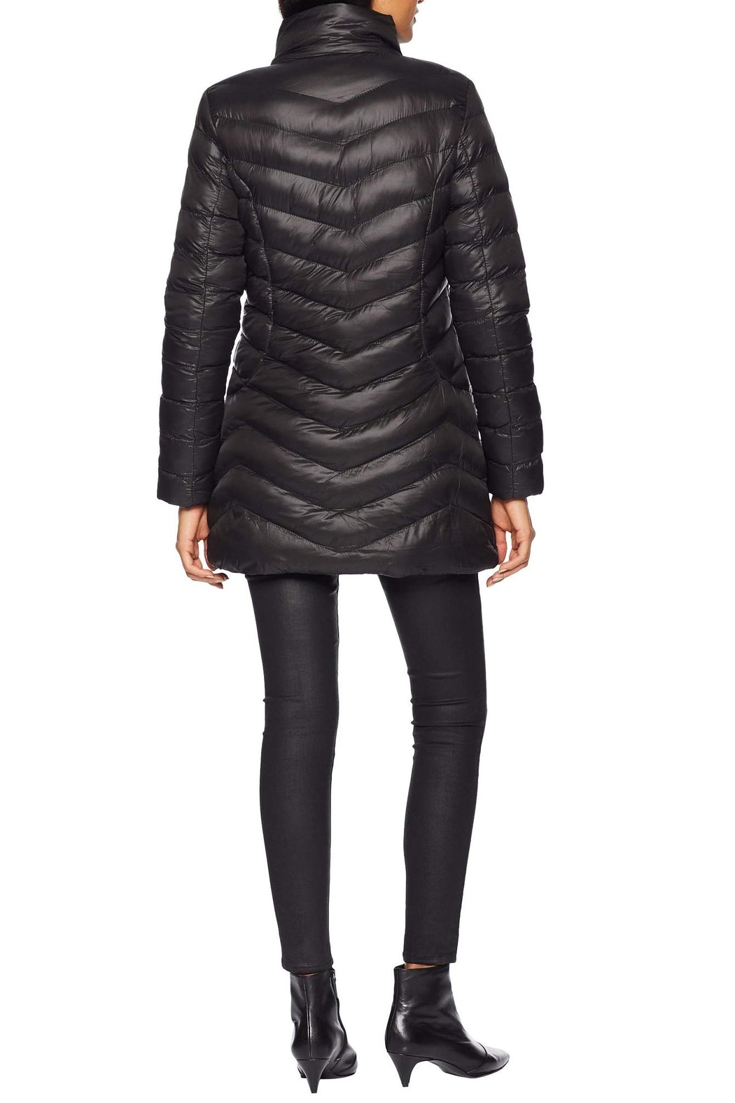 Tribal Softshell Puffer Jacket - Side Cropped Image