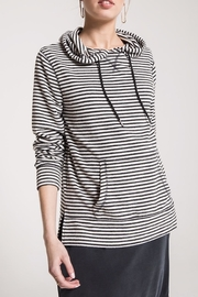 z supply Softspun Striped Hoodie - Product Mini Image