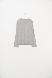SOH Classic Grey Pullover - Front full body