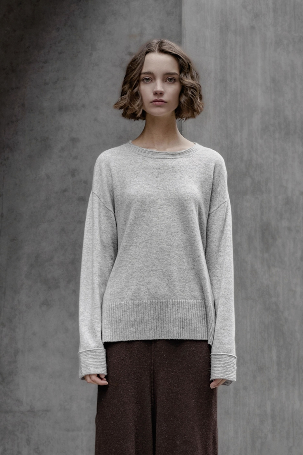 SOH Classic Grey Pullover - Main Image