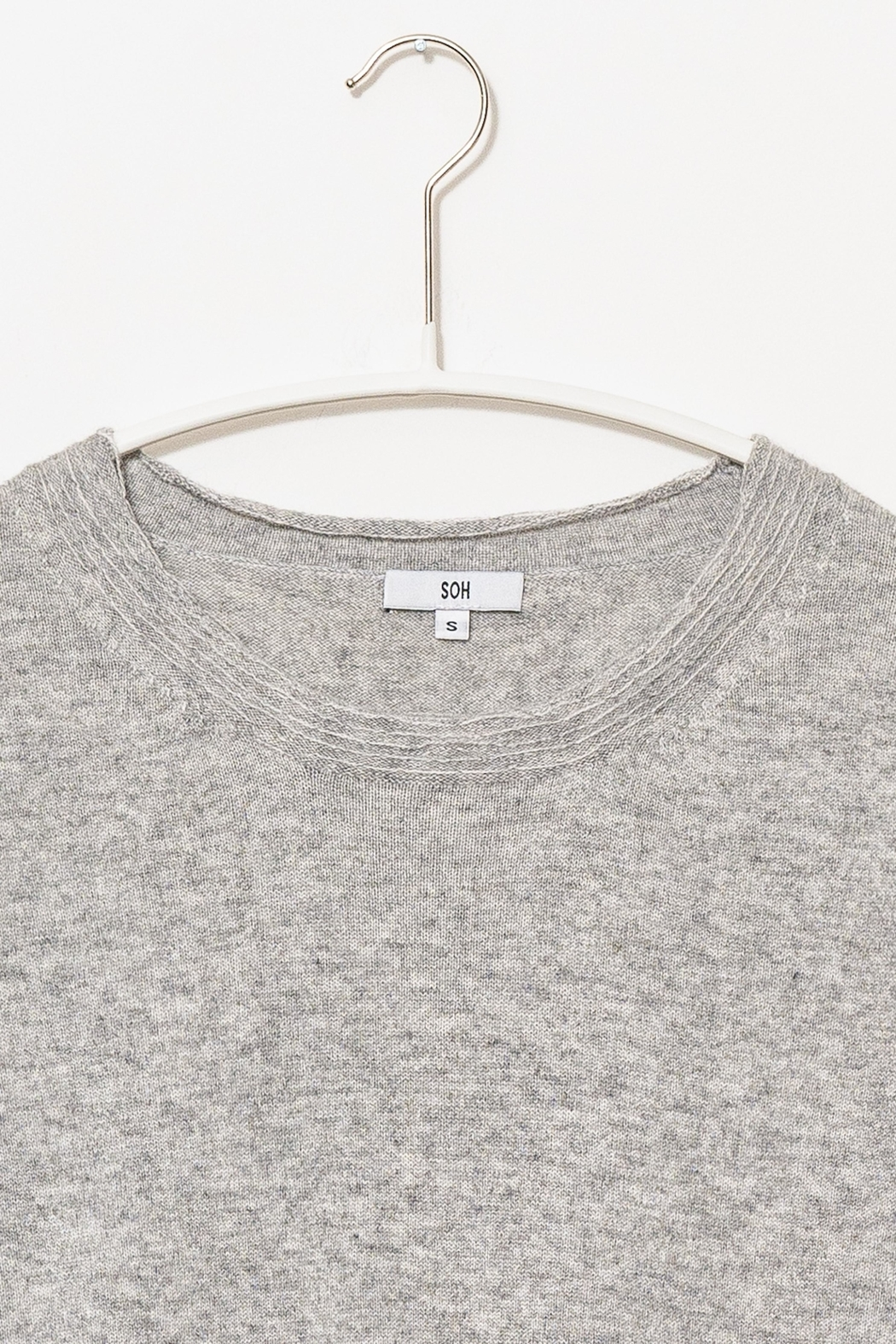 SOH Classic Grey Pullover - Side Cropped Image