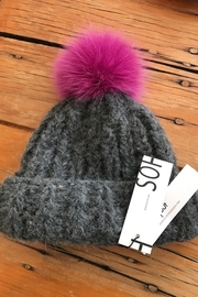 SOH Hand Knit Hat - Front cropped