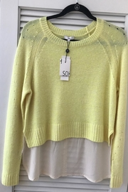 SOH Lemon Yellow Sweater - Product Mini Image
