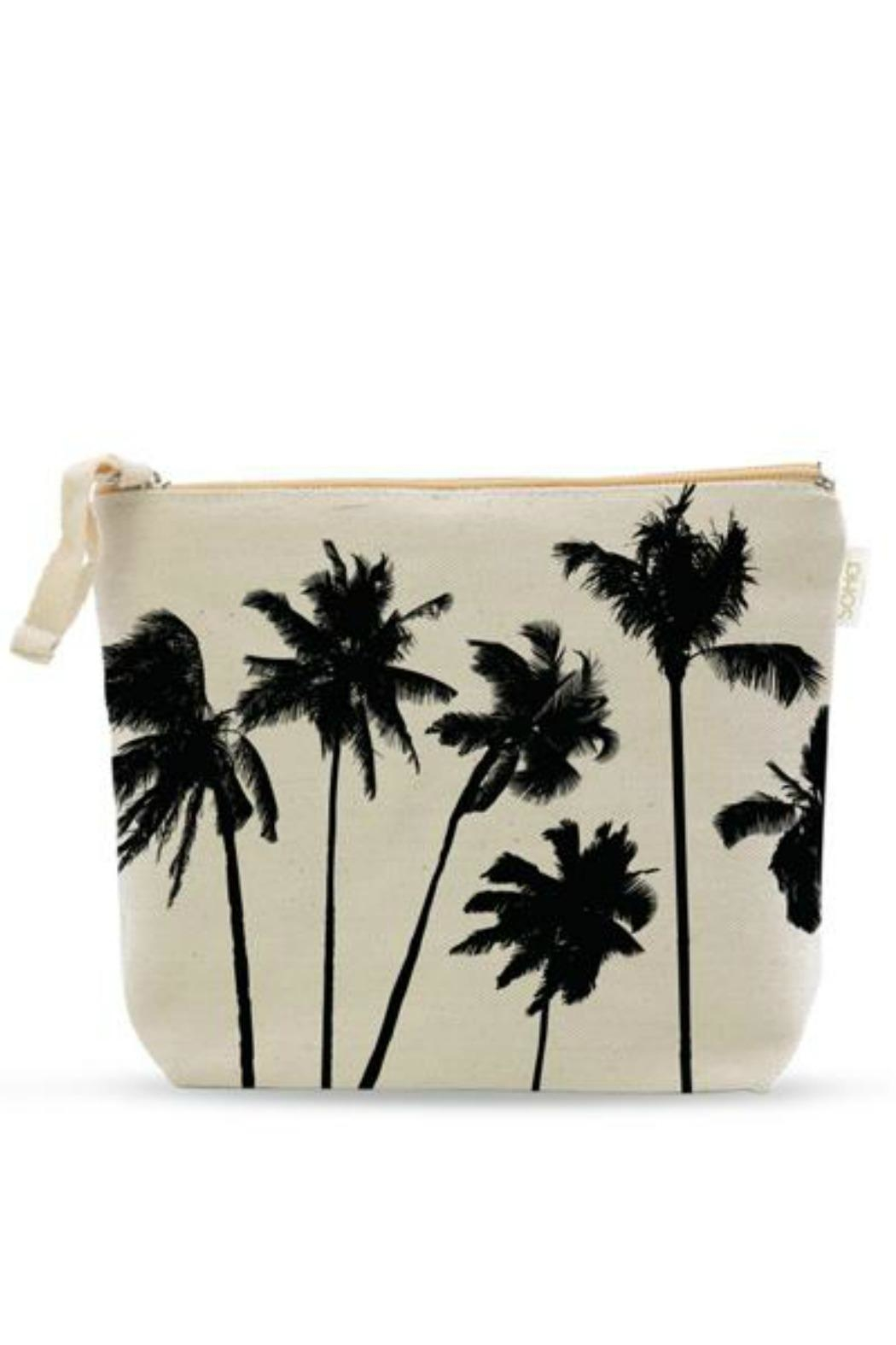 Soha Living Palm Cosmetic Bag - Main Image
