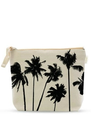 Soha Living Palm Cosmetic Bag - Front cropped