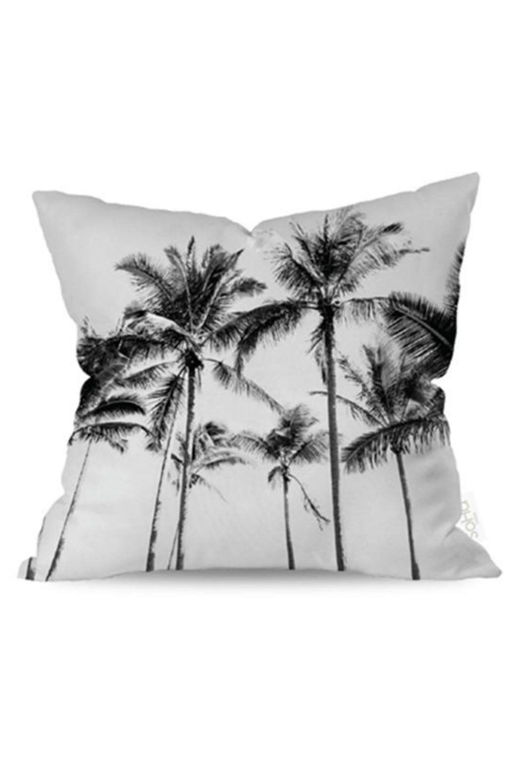 Soha Living Palm Trees Pillow - Main Image