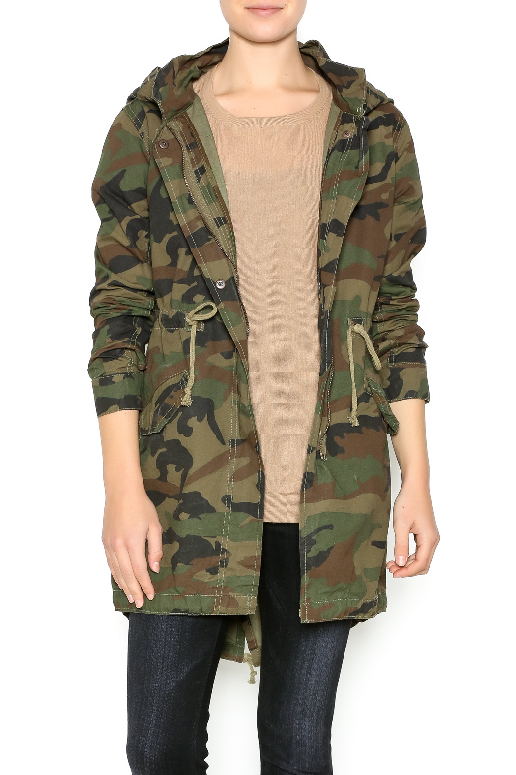 2a93c5589e6bf Soho Babe Camo Anorak Jacket from Long Island by EPIC Stores ...