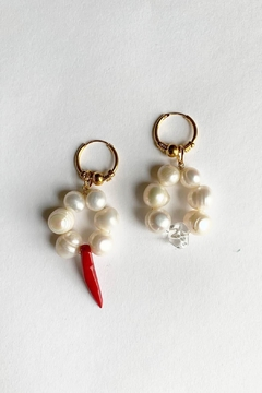 Shoptiques Product: Soho Pearls Coral