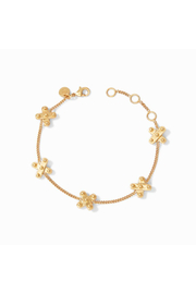Julie Vos SoHo X Delicate Bracelet-Gold - Product Mini Image