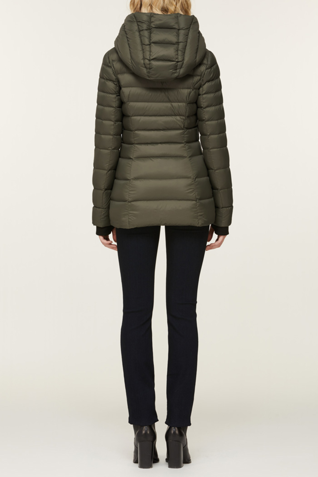 Soia & Kyo SOIA & KYO LIGHTWEIGHT DOWN COAT - Back Cropped Image