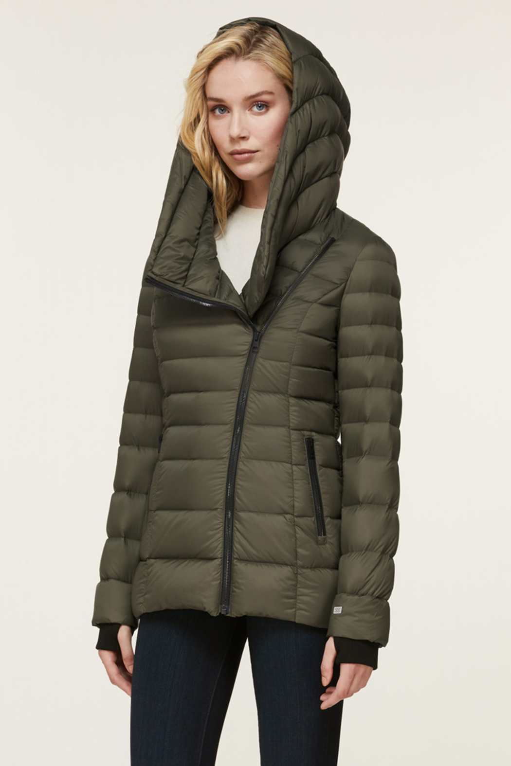 Soia & Kyo SOIA & KYO LIGHTWEIGHT DOWN COAT - Side Cropped Image