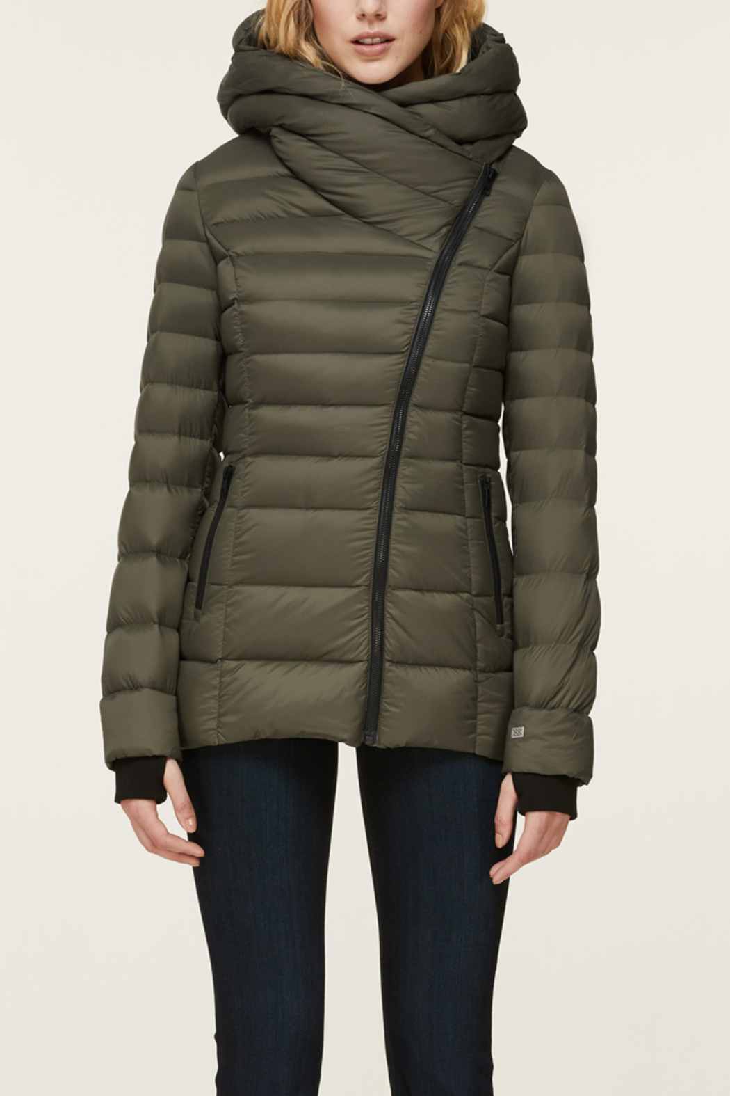 Soia & Kyo SOIA & KYO LIGHTWEIGHT DOWN COAT - Front Full Image