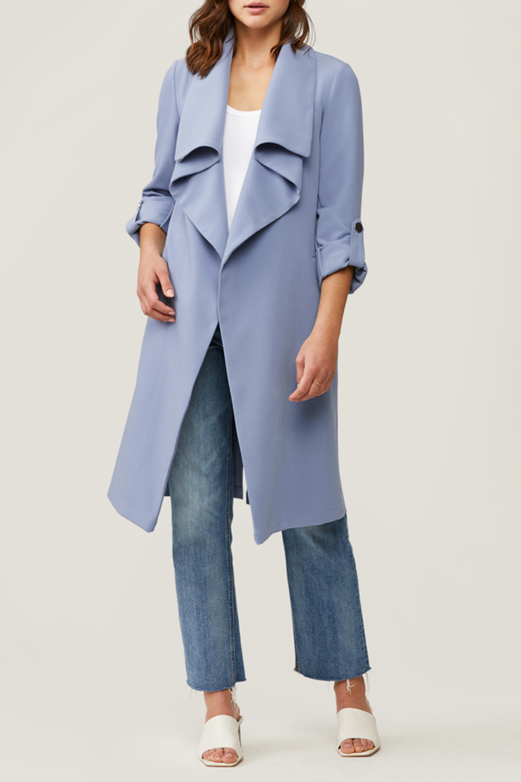 Soia & Kyo SOIA & KYO LIGHTWEIGHT OUTER JACKET - Front Full Image