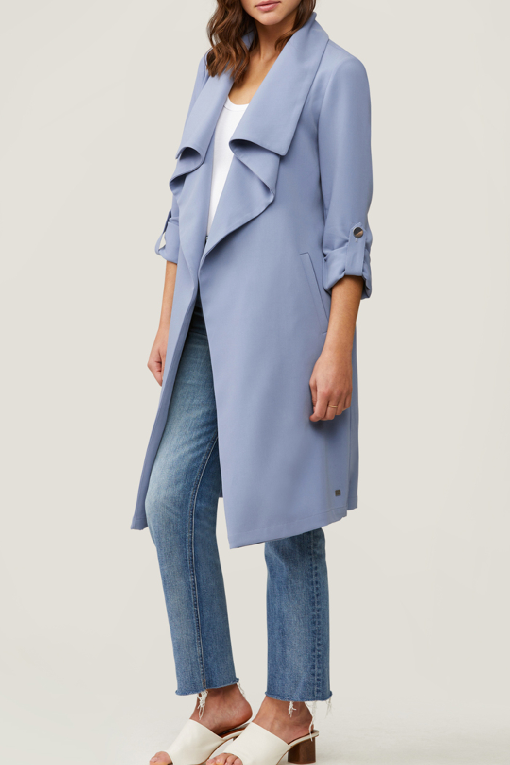 Soia & Kyo SOIA & KYO LIGHTWEIGHT OUTER JACKET - Back Cropped Image