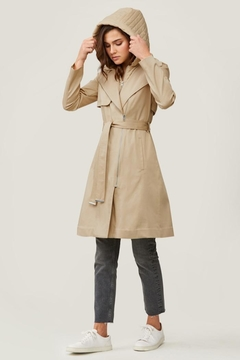 Soia & Kyo Athie Trench Coat - Alternate List Image