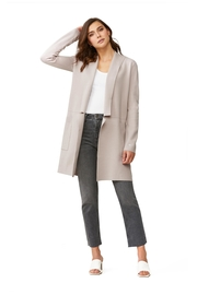 Soia & Kyo Benela Mid-Length Coatigan - Front cropped