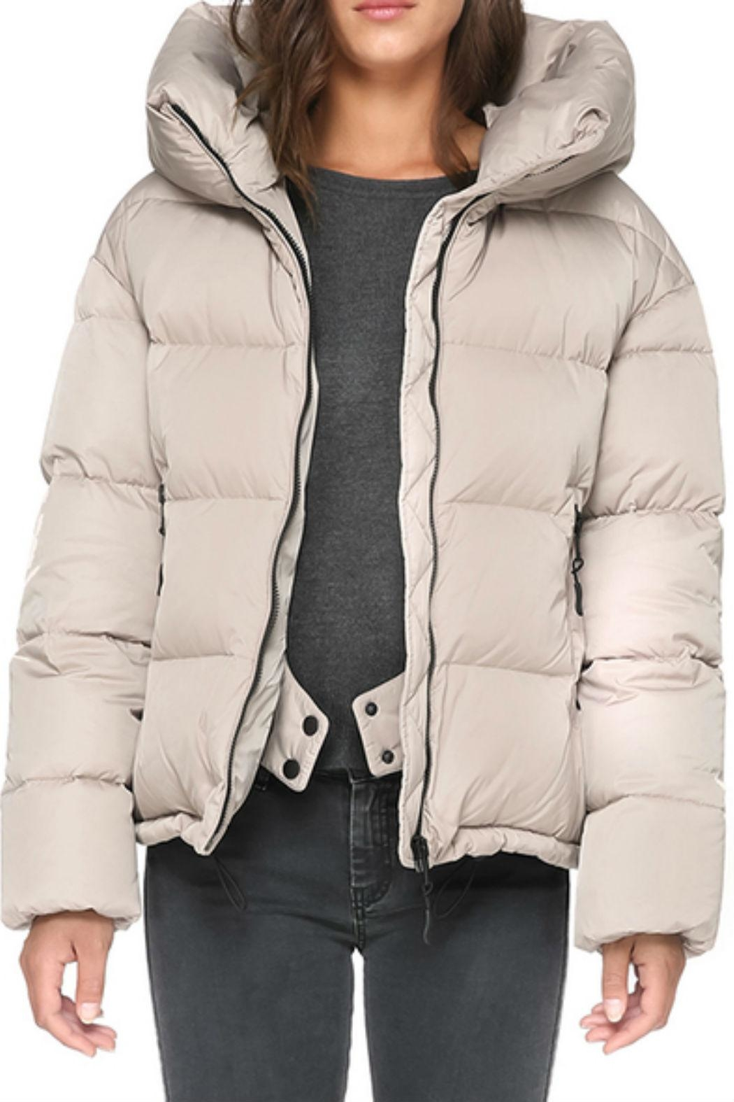 Soia & Kyo Brittany Down Jacket - Side Cropped Image
