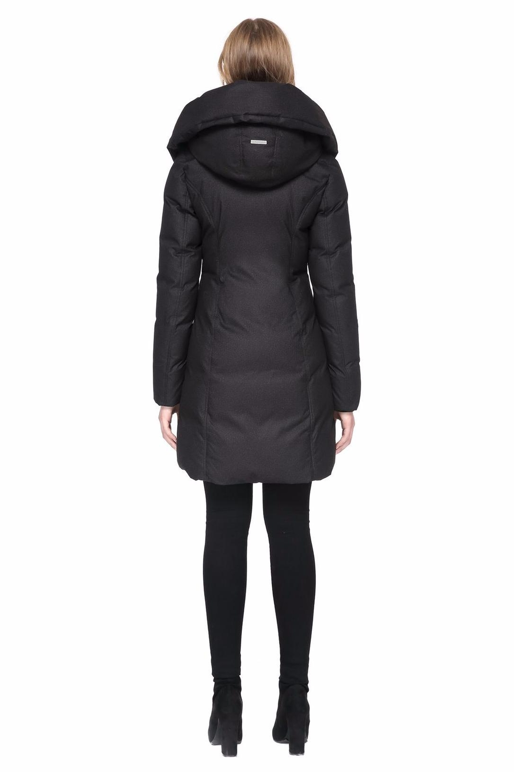 Soia & Kyo Camyl Down Coat - Side Cropped Image