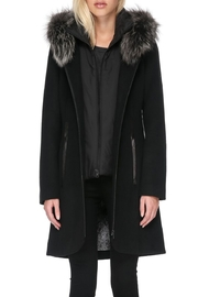 Soia & Kyo Charlena Fx Coat - Front cropped