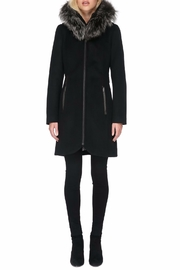 Soia & Kyo Charlena Fx Wool Coat - Front cropped