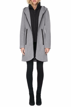 Soia & Kyo Charlena Fx Wool Coat - Alternate List Image