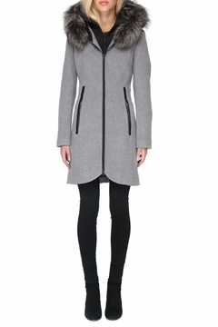 Soia & Kyo Charlena Fx Wool Coat - Product List Image