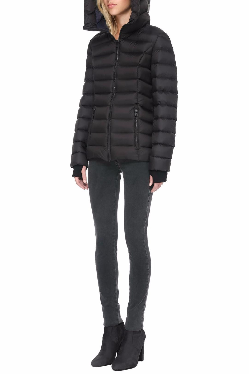Soia & Kyo Charlise Light Down Jacket - Side Cropped Image