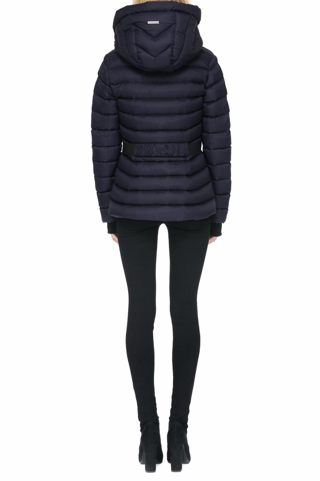 Soia & Kyo Charlise Light Down Jacket - Back Cropped Image