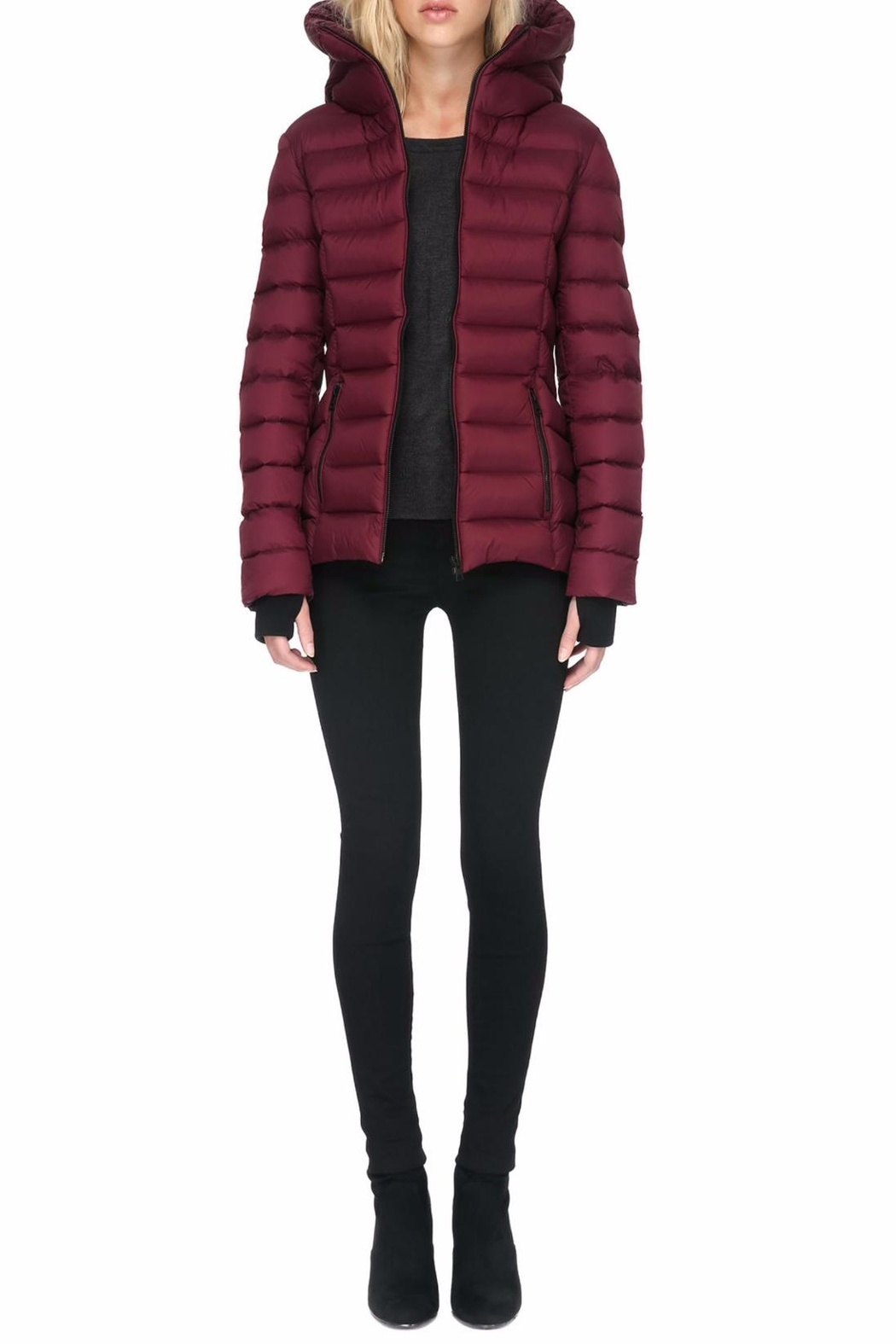 Soia & Kyo Charlise Light Down Jacket - Front Full Image